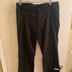 Black slacks size 13/14. Stretch a little